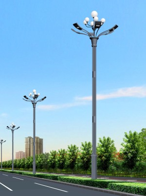 led combination street light